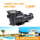 15HP Swimming Pool Pump In Ground Hayward Motor Strainer Generic Replacemen US