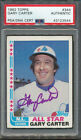 Gary Carter Cards, Rookie Cards and Autograph Memorabilia Guide 34