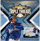 2012 Topps Triple Threads Baseball Box Look for Inserts 1 1 AUTO AU Jersey