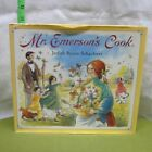 MR EMERSONS COOK autograph kids book Judith Byron Schachner signed 1998