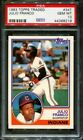 1983 TOPPS TRADED #34T JULIO FRANCO RC INDIANS PSA 10 B2741281-219