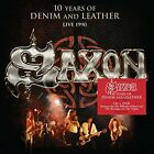 Saxon-10 Years Of Denim & Leather (UK IMPORT) CD NEW