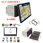 2Din 101 Android 81 Car Stereo GPS Quad core Bluetooth Navigation 1080P Wifi