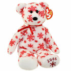 TY Beanie Baby - SNOWBELLES the Bear (White Version) (Hallmark Gold Crown Excl)