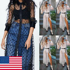 USA Women Summer Short Maxi Dress Evening Cocktail Party Beach Dress Sundress