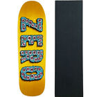 Zero Skateboard Deck Evil Eyes Shaped 95 with Grip