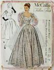 McCalls Fashion Firsts 9577 Misses Evening Dress Stole Sewing Pattern Sz 16 B34