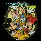 Disney Pin Monogram Inc Mickey  Friends Oval The Whole Gang Epoxy