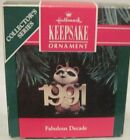 1991 HALLMARK- FABULOUS DECADE -2ND IN THE FABULOUS DECADE SERIES - MINT IN BOX