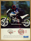 1998 Buell S1 White Lightning Motorcycle photo vintage print Ad