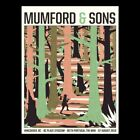 VANCOUVER # 325 2019 MUMFORD & SONS Print Concert Poster BC Canada Delta Signed