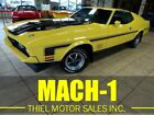 1971 Ford Mustang Mach 1 1971 Ford Mustang Mach 1 95597 Miles Yellow 351 Automatic