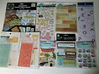 LOT 9 pks 3D Scrapbooking Stickers No Dups Family Reunion Love Sweetest Thing ++