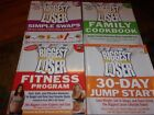 Lot of 4 health books The Biggest Loser 30 Day Jump Start Family Cookbook+