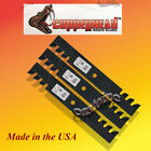 3 Copperhead Commercial Mulching Blades For 52 Cut Mower Tractor Rotary 6294