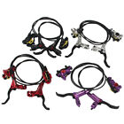 HB875 MTB Mountain Bike Cycling Hydraulic Disc Brakes Levers Front Rear Set