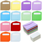 120 Pcs Mini Envelopes Business Cards Colorful Gift Card Wedding Party Birthday