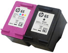 HP 65 Black and Color Ink Cartridge Combo GENUINE