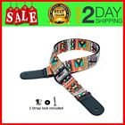 Ukulele Strap Adjustable for SopranoConcert and Tenor Uke with Strap lock