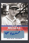 Stan Musial 2015 Leaf 1942 World Series Champs Autograph card SM1