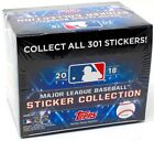 2018 TOPPS MLB STICKER COLLECTION BASEBALL 16 BOX CASE