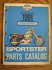 1991 Harley-Davidson XLH Sportster Evolution Parts Catalog, Original
