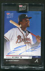2019 Topps NOW Road To Opening Day Ronald Acuna Jr Autograph Auto Braves 49