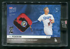 2019 Topps NOW Joc Pederson HR Derby Event Worn Sock Relic #HRD-19A Dodgers 49