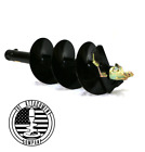 Earth Rock Auger 2 Hex Hub 4ft Long 6 9 12 available Fits Most Units