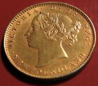 1885 Newfoundland $2 Gold Coin Two Dollars UNCIRCULATED (MS-60 or better) Canada