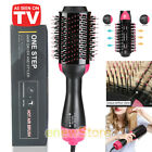3In1 One Step Hair Dryer and Volumizer Brush Straightening Curling Ion Comb USA