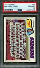 1977 TOPPS #51 BREWERS TEAM PSA 10 B2760188-014