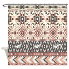 CafePress Native Pattern Decorative Fabric Shower Curtain 69x70 1309266796