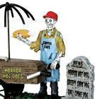 Spooky Town Ghoul Hot Dog Vendor by Lemax Halloween Horror EATS
