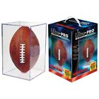 3 Ultra Pro NFL Football Storage Holders Display Cubes Protection