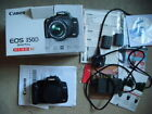 Canon 350D 8MP DSLR - spares or repairs - needs full power down to turn on