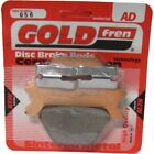 Rear Disc Brake Pads for Harley Davidson FXRS Low Rider 1989 1340cc By GOLDfren