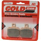 Front Disc Brake Pads for Derbi GP1 250i Racing 2007 250cc  By GOLDfren