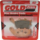 Rear Disc Brake Pads for Honda NSS250A Reflex ABS 2004 250cc By GOLDfren