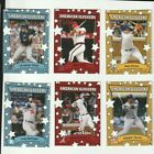 2019 TOPPS THROWBACK THURSDAY STYLE SET ( 6 CARDS ) ALONSO TROUT LOADED RARE