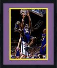 Framed Shaquille O'Neal Los Angeles Lakers Signed 16'' x 20'' Monster Dunk Photo