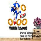 Personalized Sonic Rings Style Wall Sticker Decal Wall Sticker Wall Mural Custom