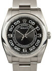 Rolex Oyster Perpetual Steel Concentric Dial 36mm Watch & Box 116000