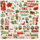 Combo Simple Vintage Christmas Cardstock Stickers 12X12