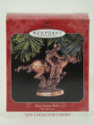 Hallmark Keepsake PONY EXPRESS RIDER The Old West Series Ornament - Box