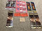 BIG LOT OF VINTAGE HALL OF FAME FOOTBALL TICKETS