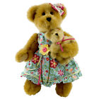 Boyds Bears Plush FLORA AND LIL' BELL LUVINBLOOM Mother's Day Teddy Bear 4022613