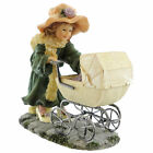 Boyds Bears Resin ISABELLA LITTLE MOTHER Polyresin Dollstone Carriage Baby 35004