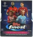2018-19 Topps Finest UEFA Champions League Soccer Hobby Box UNOPENED #saug19-341