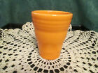 Fiesta Ware Retired TANGERINE Orange Tumbler  Retired NEW with tag
